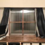【DIY】自作のポリカーボネートの内窓を付けて寒さ対策をしてみた